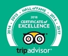 Hall of Fame - Certificate of Excellence 2014 - 2018