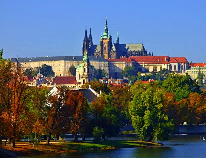 Autumn in Prague