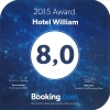 2015 Booking Award - Hotel William Praha